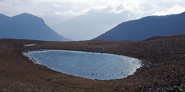 Einer der Gschweller Seen in Langtaufers