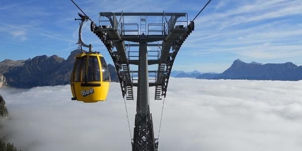 Zum Piz Boè: Von Corvara erreicht ihr in wenigen Minuten das Ski- & Wanderparadies des Gadertals.