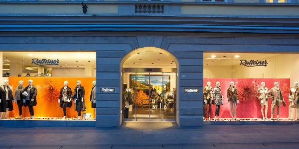 The always fashionable shop in Merano