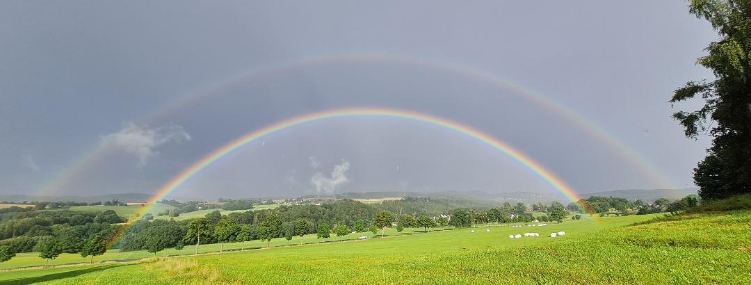 Regenbogen Vogtland
