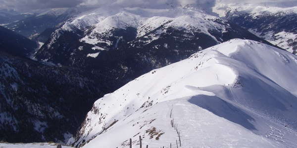 Blick Richtung Padauner Berg