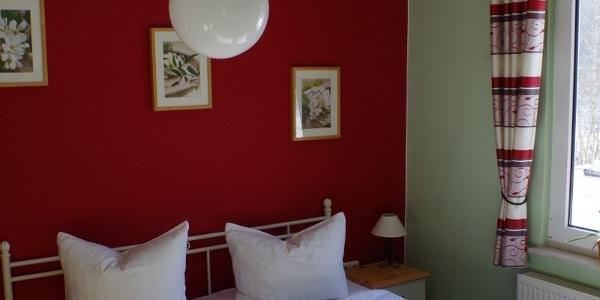 Schlafzimmer Pension Autschbach