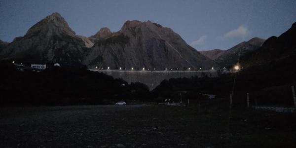 Morasco dam