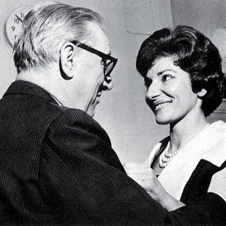 Maria Callas und Walter Legge, Fotos aus dem Legge-Archiv