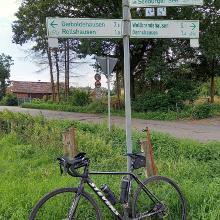 Radwegbeschilderung fehlt vor Germershausen