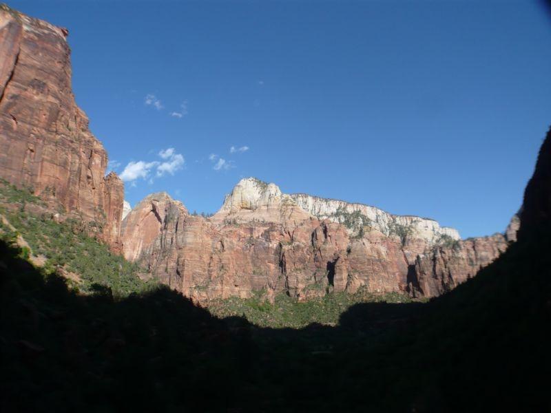 Felsriesen im Zion Nationalpark