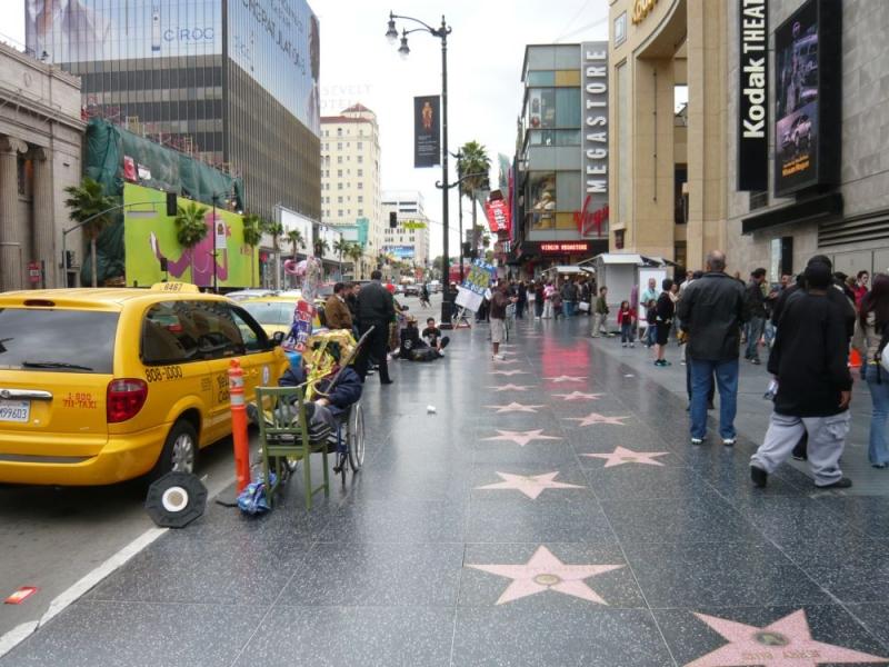 """Auf dem """"Walk of Fame"""" in Los Angeles"""