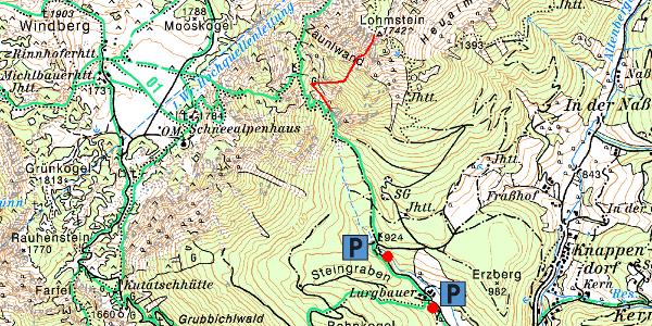 Karte - Übersicht