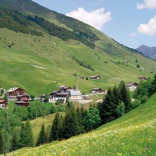 Das Walserdorf St. Antönien