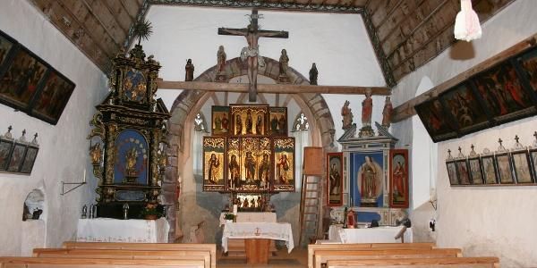 St. Agatha Bergknappenkapelle Innenansicht