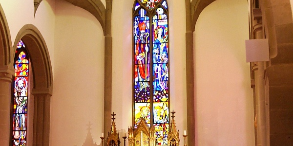 Altarraum Dom Heiliger Nikolaus