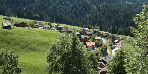 Das Schanfigger Dorf Langwies
