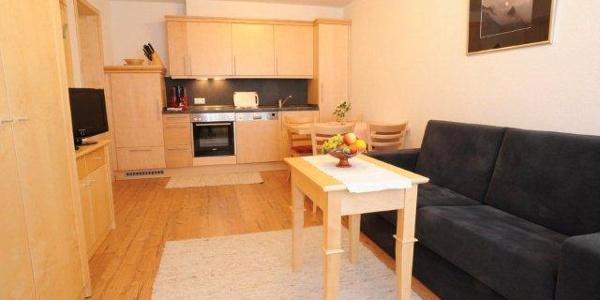 Küche mit Sitzecke - Apartment für 2-3 Personen
