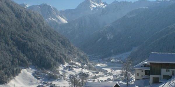 Ausblick auf die Vallüla