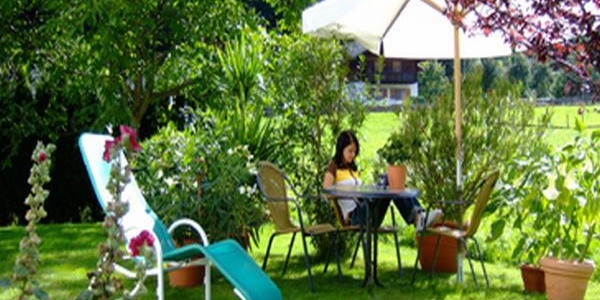 Garten, Liegewiese