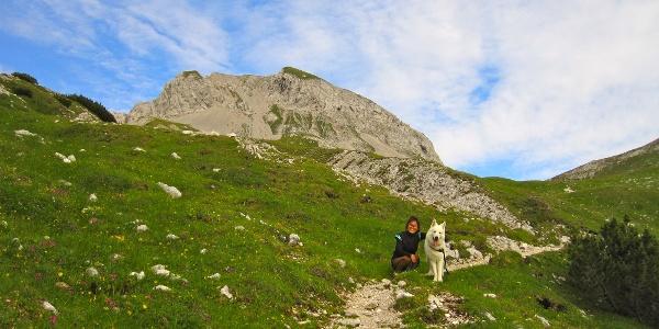 Auf dem Weg zur Thaurer Joch Spitze