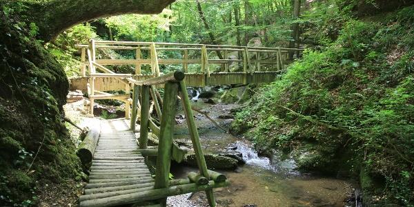 Brücke in der Ehrbachklamm