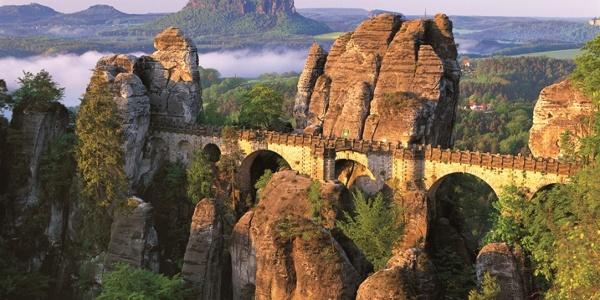 Basteibrücke in der Sächsischen Schweiz
