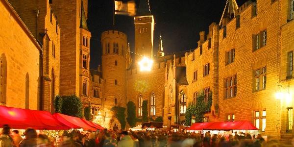 Weihnachtsmarkt auf der Burg Hohenzollern