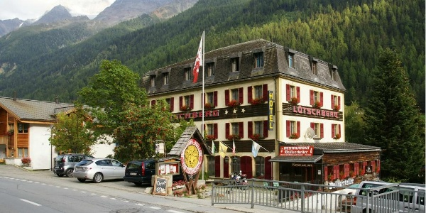 Das Hotel Lötschberg war eines der ersten touristischen Bauten im Lötschental.