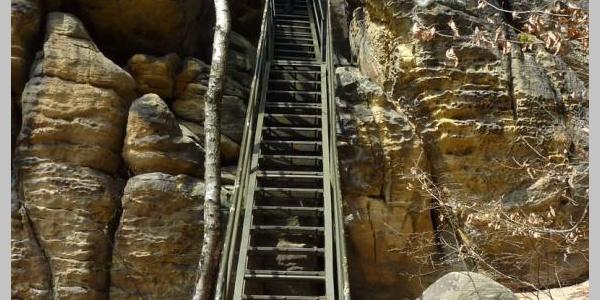 Rauenstein lange Treppe