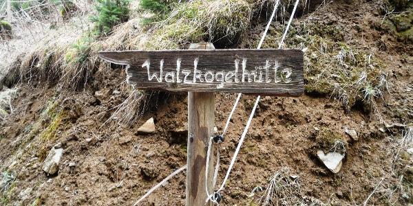 Walzkogelhütte - Wegweiser