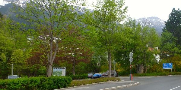 kostenloser Parkplatz beim Spar Markt