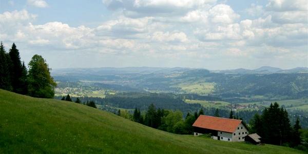 Blick in den Bregenzerwald