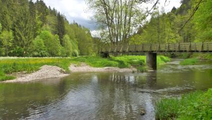Brücke über die Eschach