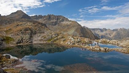 Klafferkessel lake plateau - Schladminger Tauern mountain range