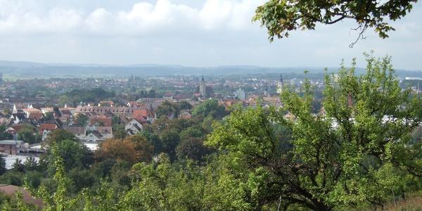 Blick nach Crailsheim