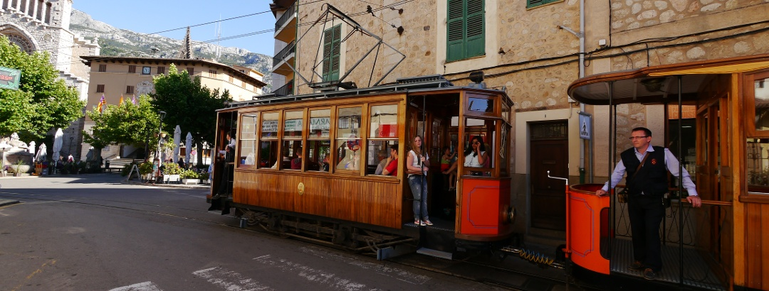 Streetcar in Sóller