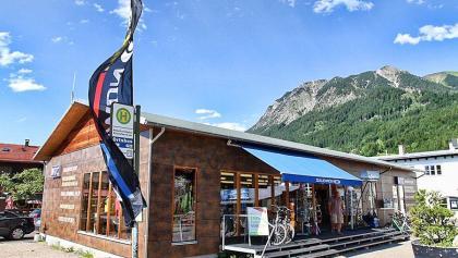 Start beim NTC Center an der Nebelhornbahn