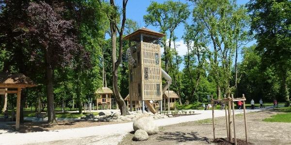Kinderspielplatz im Stadtpark