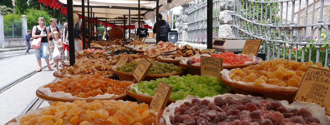 Productos especiales del mercado de Sóller