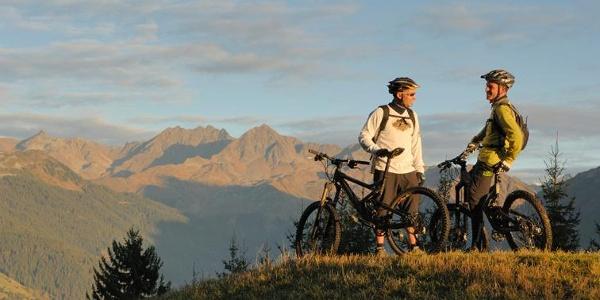 Biker unterwegs im Silbertal