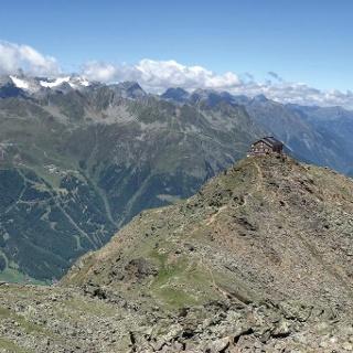 Brunnenkogelhaus (2.738 m)
