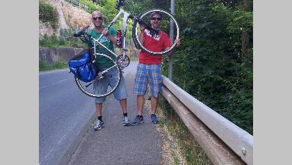 Geschafft: Zurück in Rottenburg hat man rund 85 Kilometer und 17 Ortsteile hinter sich gebracht