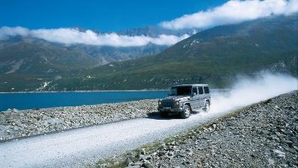 Rund um den Lac du Mont Cenis