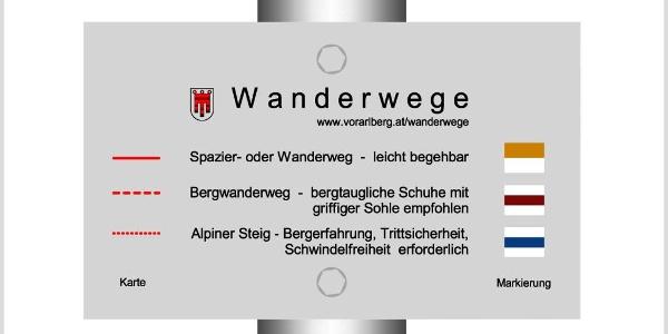 Vorarlberger-Wanderwegekonzept