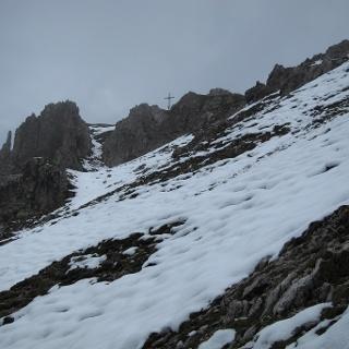 Gipfel der Erlspitze