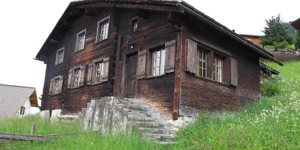 Altes Walserhaus in Fontanella