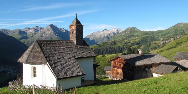 Bürstegg, die ehemals höchste ganzjährig bewohnte Siedlung in Vorarlberg