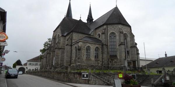 Die Kirche von Oberneukirchen.