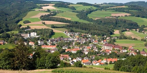 Ortsansicht Bad Schönau