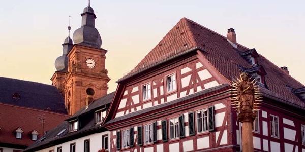 Kirche in Amorbach