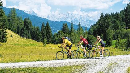 Biker auf der Salzburger Sonnenterrasse