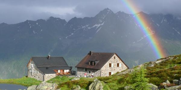 Die Friedrichshafener Hütte.