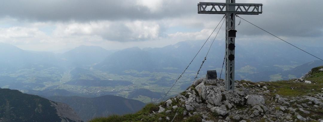 Gipfel Hoher Nock
