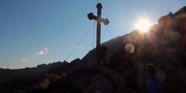 Gipfelkreuz Brettgabel